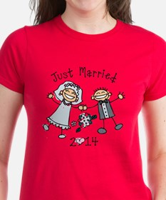 Stick Just Married 2014 Tee