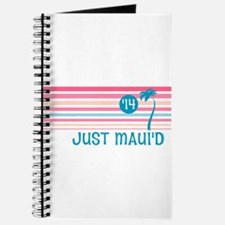Stripe Just Mauid 14 Journal