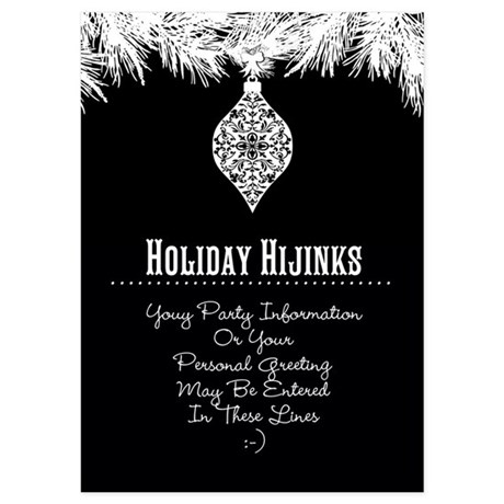 Invitations for Black And White Party Black And White Party