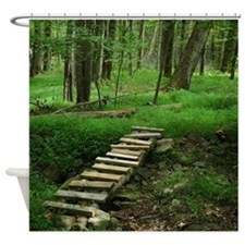 Cute Woodland Shower Curtain