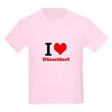 Kinder T-Shirt I Love Dusseldorf