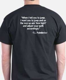Path Accordingly - T-Shirt (Dark)