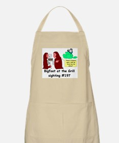W.S. 'Bigfoot at the Grill' BBQ Apron