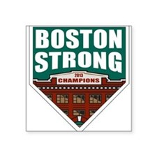 Boston Strong Home Plate Sticker