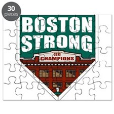 Boston Strong Home Plate Puzzle