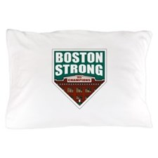 Boston Strong Home Plate Pillow Case