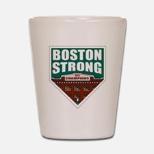 Boston Strong Home Plate Shot Glass