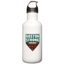 Boston Strong Home Plate Water Bottle