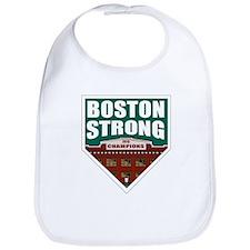 Boston Strong Home Plate Bib