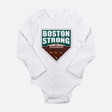 Boston Strong Home Plate Body Suit