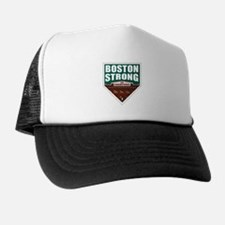 Boston Strong Home Plate Trucker Hat