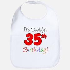 Daddys 35th Birthday Bib