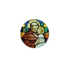 St Anthony Mini Button