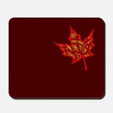 Fire Leaf Mousepad
