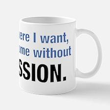 permission Mug