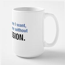 permission Large Mug