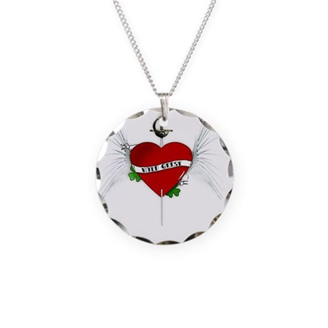 wildgeese2 Necklace Circle Charm