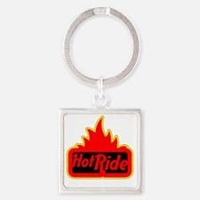 2-Hot Ride Square Keychain