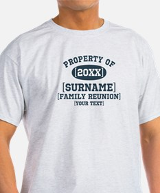 Personalize Family Reunion T-Shirt