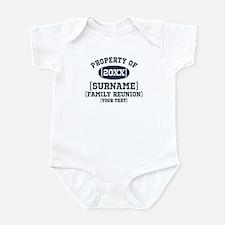 Personalize Family Reunion Infant Bodysuit