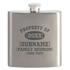Personalize Family Reunion Flask