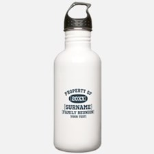 Personalize Family Reunion Water Bottle