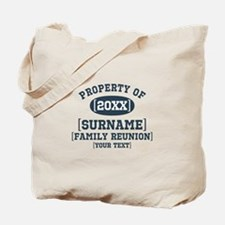 Personalize Family Reunion Tote Bag