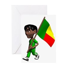 3DBenin Greeting Card