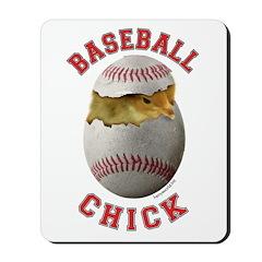 Baseball Chick 2 Mousepad