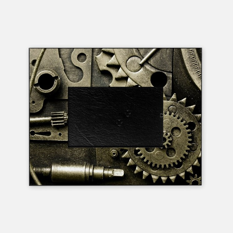Mechanical Gears Picture Frame