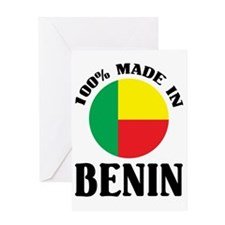 100percentBenin1 Greeting Card