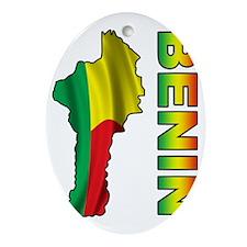 Benin2 Oval Ornament