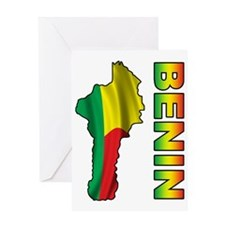 Benin2 Greeting Card