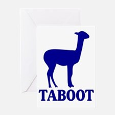 Taboot Greeting Card