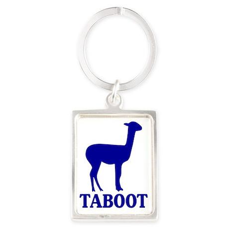 Taboot Portrait Keychain