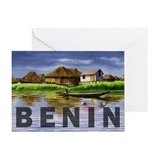 Benin4 Greeting Card