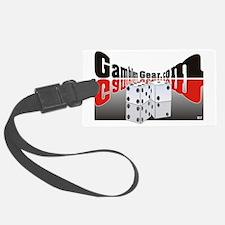 Gamblers Gear com logo 2 Luggage Tag