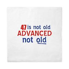 47 is not old designs Queen Duvet
