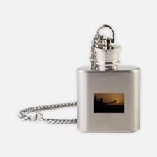 US Army Field Artillery Flask Necklace