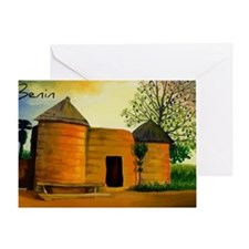 Benin3 Greeting Card