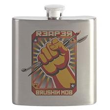 brushin mob Flask