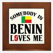 somebodylovesBenin1 Framed Tile