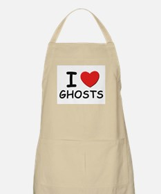 I love ghosts BBQ Apron