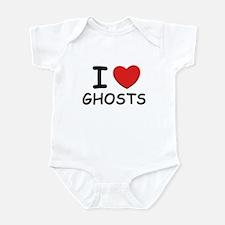 I love ghosts Infant Bodysuit