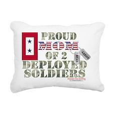 aaron ryan deployed Rectangular Canvas Pillow
