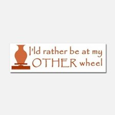 2-other_wheel Car Magnet 10 x 3