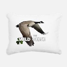 wildgeeseback3 Rectangular Canvas Pillow
