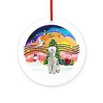 Xmusic2 - Bedlington Terrier Ornament (Round)