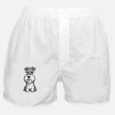 Life-is-better-with-a-Schnauzer-dark Boxer Shorts