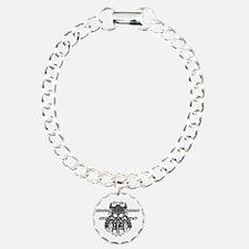 gallowglassblack Charm Bracelet, One Charm